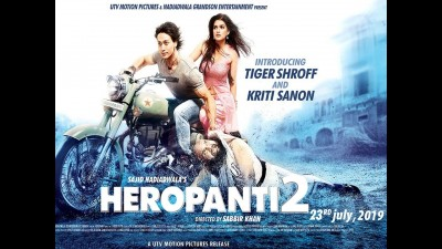 New poster of Heropanti-2 released, Tiger seen in Killer Look