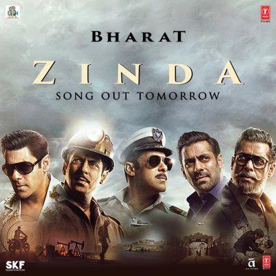Zinda Poster : सलमान खान ने शेयर किया 'भारत' के नए गाने का पोस्टर