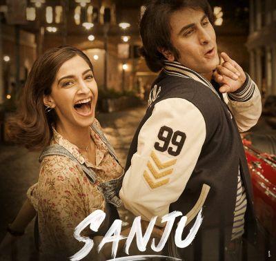 संजू की पहली गर्लफ्रेंड के साथ रोमांस करते नज़र आए रणबीर कपूर