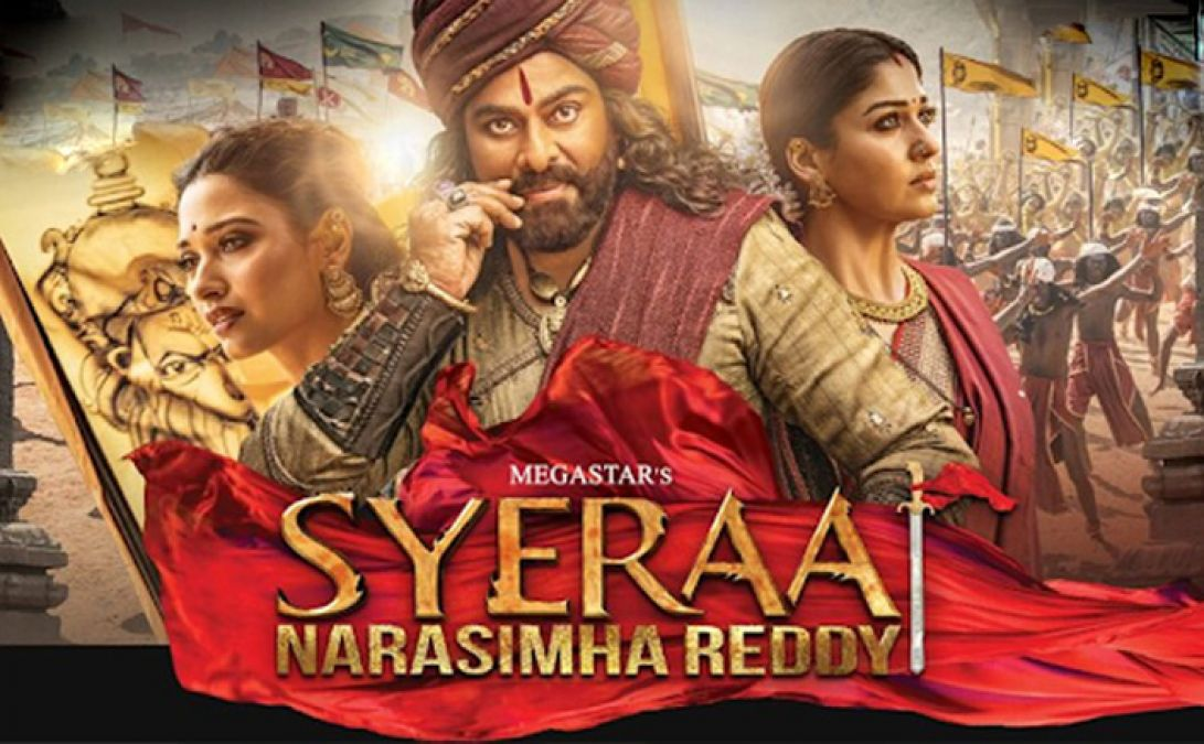 Magic of 'Sye Ra Narasimha Reddy' at the box office, collection reached near 150 crores