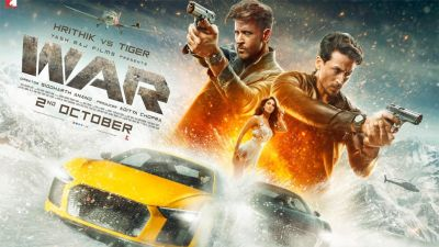 Hrithik Roshan-Tiger Shroff's film 'War' continues, know the collection on the seventh day
