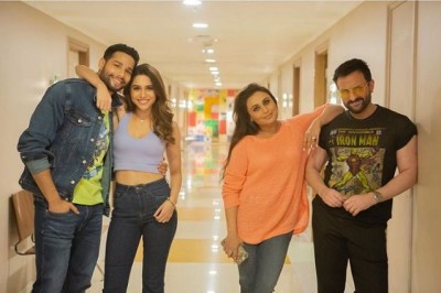 Dubbing of 'Bunty Aur Babli 2' completed, Rani, Saif to share screen after 11 years