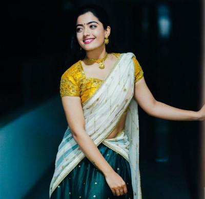 Rashmika Mandana got engaged on Holi by hiding from everyone's eyes