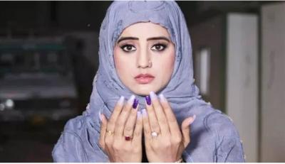 अक्षरा सिंह के हिजाब लुक ने सोशल मीडिया पर दर्शको का लुटा दिल