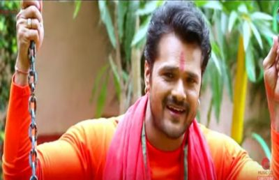This latest song of Khesari Lal Yadav is trending a lot on Youtube!