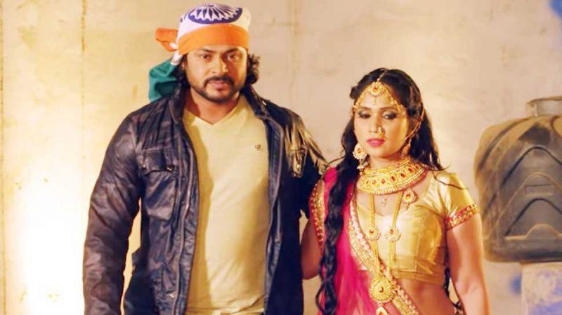 भोजपुरी फिल्म 'इंडियन विराज' का तड़कता-भड़कता टीज़र रिलीज़