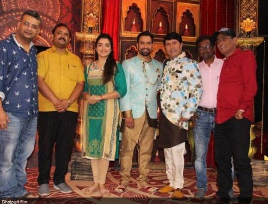 Bhojpuri star Nirhua will be seen doing Politics in this film!