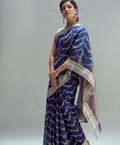 This simple sari of Samantha Akkineni is very expensive, you will be shocked after knowing the price