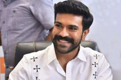 Know if Ram Charan is taking a break from the shoot