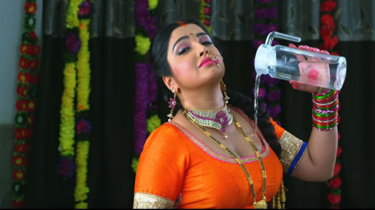 Amrapali's song 'Love Dahej' going viral; fans danced on it fiercely