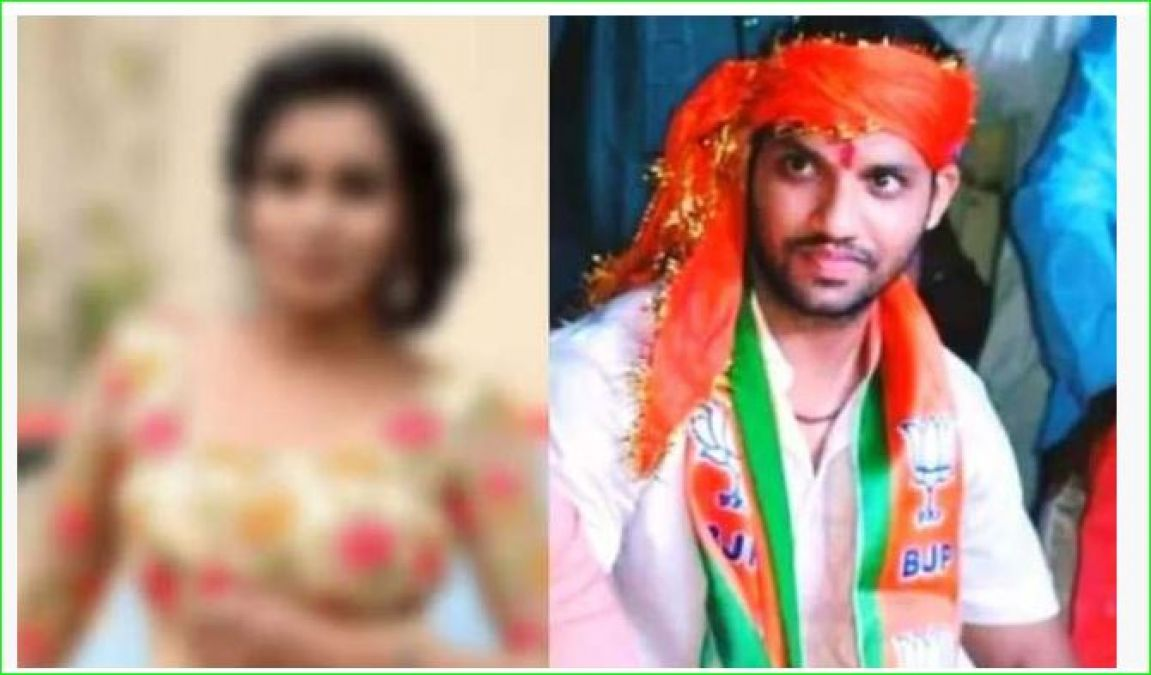 BJP leader was demanding death penalty for rapists, now this model made serious allegations
