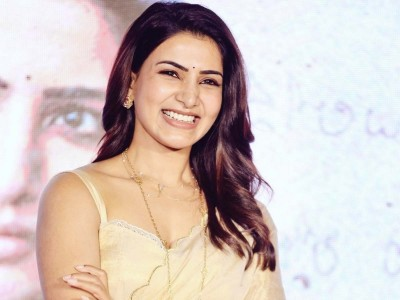 Video: Samantha Akkineni expresses the pain of girls in a funny way