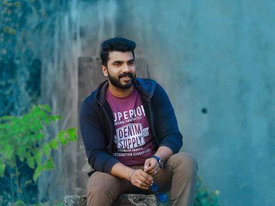 Anoop Krishnan is promoting his short film through online portal