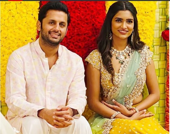 South Actor Nitin Will Soon Be Tied In Marriage Pictures Of Engagement Reveals News Track Live Newstrack English 1