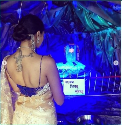This Punjabi actress was seen flaunting  Lord Shiva's tattoo on Mahashivratri