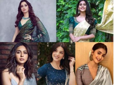 These 5 beautiful divas of South industry looks gorgeous in traditional saree