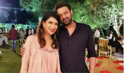 South TV anchor Lakshmi shares photos with Prabhas, check it out here