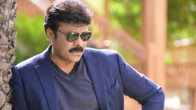 Megastar Chiranjeevi saw at the airport in this style