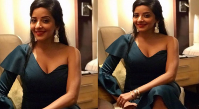 Monalisa sizzles in her red short dress; sets the internet on fire!