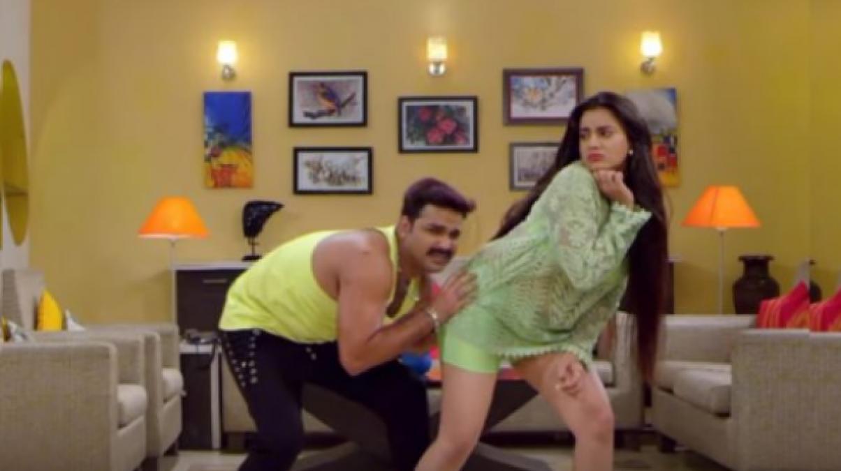 अक्षरा सिंह और पवन सिंह के इस हॉट डांसिंग गाने ने यूट्यूब पर मचाया धमाल