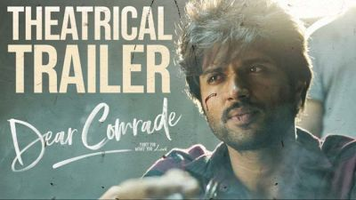 Dear Comrade's Trailer Released: Vijay Deverakonda Returns as an Angry Young Man
