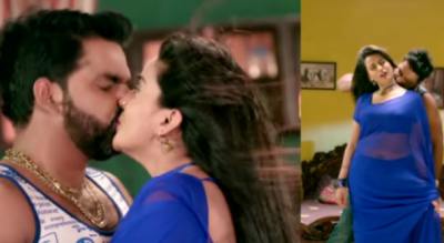 The hot incarnation of Akshara Singh and Pawan Singh came out, here's the video!