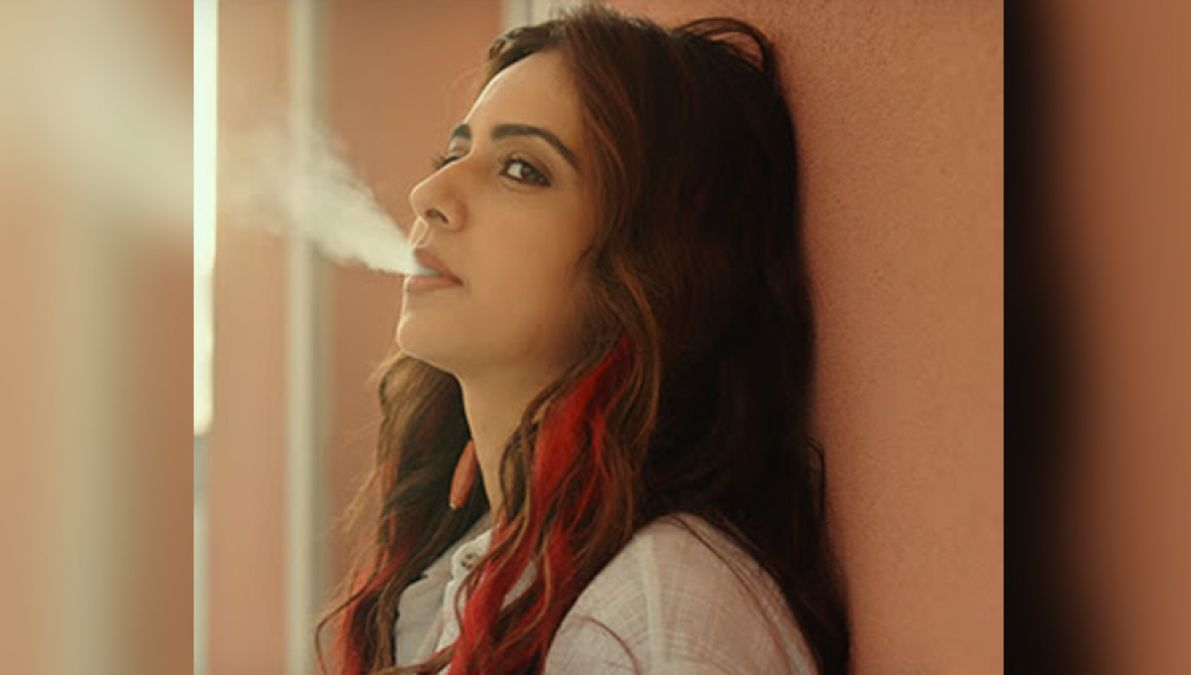 Rakul Prit responded to trollers on the smoking scene