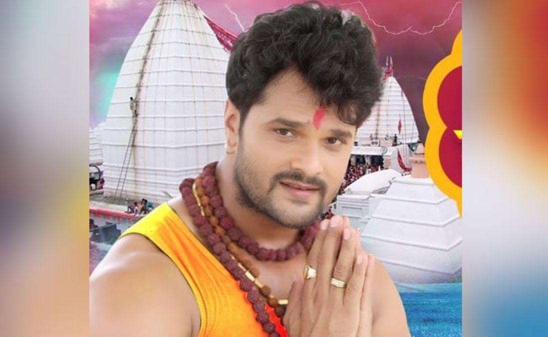 Khesari Lal's song 'Gaye Ke Gobar Mahadev' went viral, found so many views!