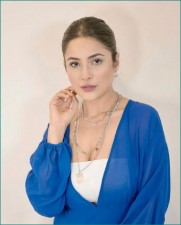 Shahnaaz Gill shares glamorous pics in blue dress, see post