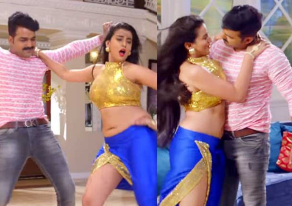 Pawan and Akshara Singh's song On YouTube Found Over 3 Million Views!