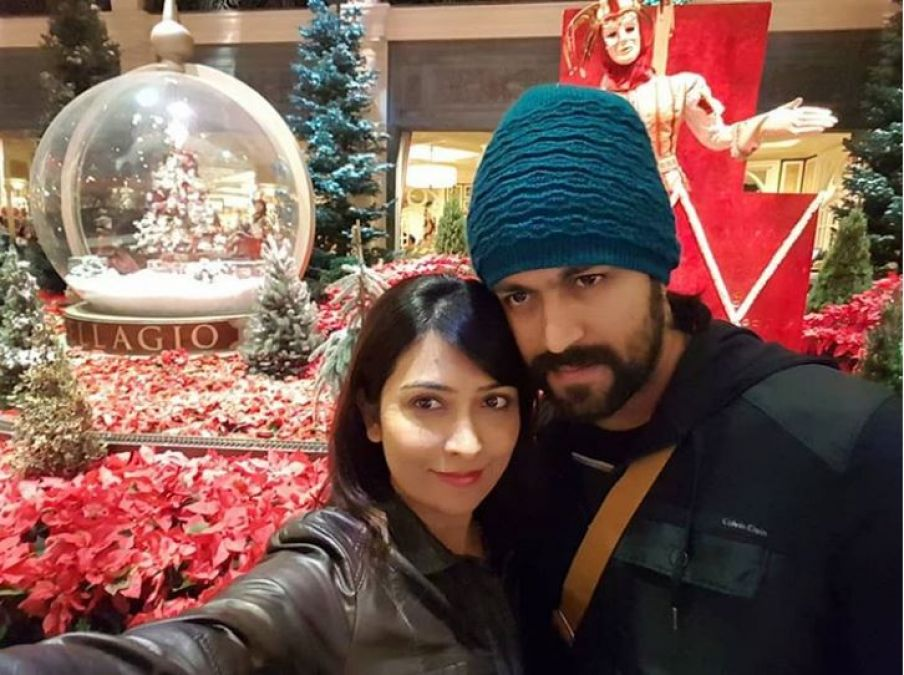 KGF actor Yash and Radhika Pandit reveal their baby's name, Ayra Yash