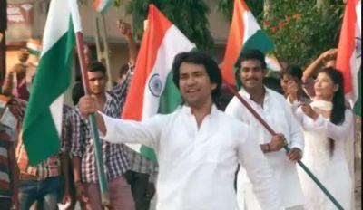 'पाकिस्तान से बदला' में छा गए निरहुआ, इंटरनेट पर जमकर लूट रहे महफ़िल