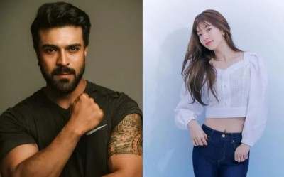 South Korean actress's entry in Superstar Ram Charan's film