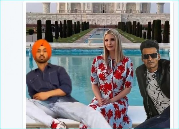 Hilarious Manoj Bajpyaee Makes An Appearance On Ivana Trump S Twitter Timeline Newstrack English 1