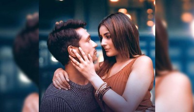 Shehnaaz Gill and Arjun Kanungo seen lost in each other's eyes in first look of  'Waada Hai'