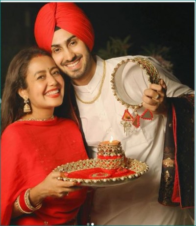 Neha celebrates first Karwachauth with her husband, share photos