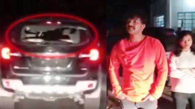 VIDEO : खेसारी के बाद पवन सिंह की जान को खतरा, एकाएक पत्थरों से हुआ हमला