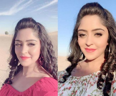 Bhojpuri actress Shubhi Sharma's new song launched, watch here video