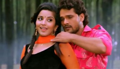 Monalisa and Khesari Lal's dance is winning hearts, watch it here