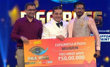 Bigg Boss Tamil 3: Actor and singer Mugen Rao became the winner, got this much amount as a prize