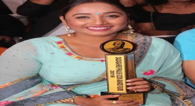 Rani Chatterjee receives Dadasaheb Phalke Icon Award 2019 for outstanding performance, know full details