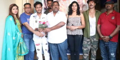 Grand mahurat of Bhojpuri film Antim Nayay in Mumbai, know who is in the lead role