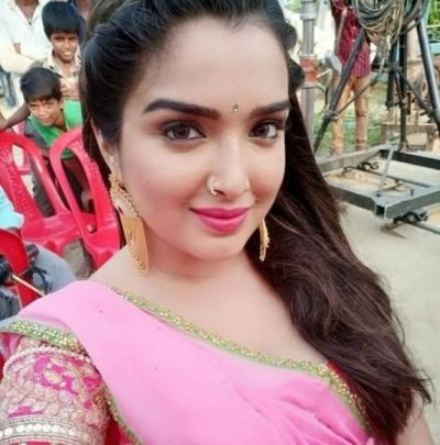 Bhojpuri actress Amrapali Dubey's sneeze spoiled herTiktok video, watch here!