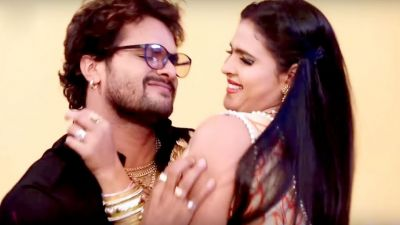 This song of 'Khesari Lal Yadav' goes viral on internet, watch video here