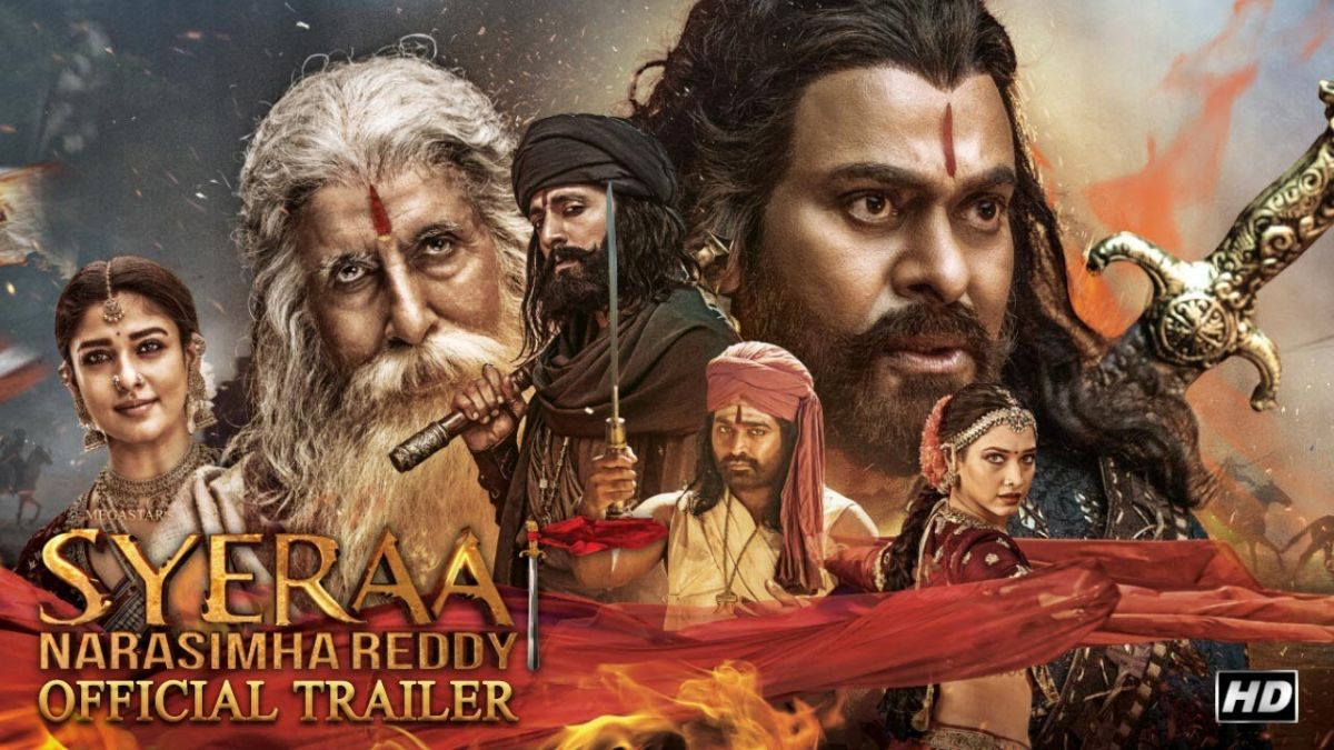Sye Raa Trailer: Chiranjeevi seen in powerful role, watch the trailer here