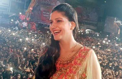 Sapna Chaudhary said such thing in the award show, Sambhavna Seth got suprised