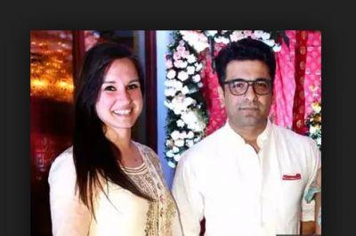 शरद मल्होत्रा की शादी में मिस्ट्री गर्ल संग नजर आए एजाज खान, शादी के बारे में कही यह बात