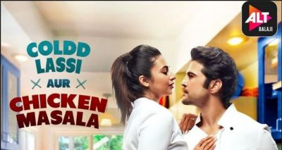 New romantic poster of 'Cold Lassi and Chicken Masala' revealed!