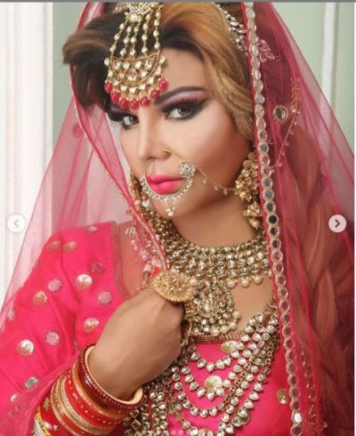 Rakhi Sawant shared her bridal photos, but there was no comment of her husband!