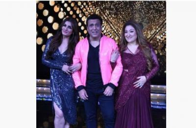 Govinda gets stranded between Reel and Real on the set of the Natch Baliye9, pics go viral!